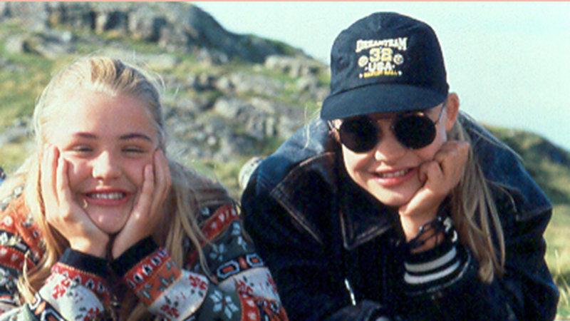 Charlie & Louise - Das doppelte Lottchen Floriane Eichhorn als Louise Krüger, Fritzi Eichhorn als Charlotte Palfy. SRF/Bavaria Media – Bild: SRF2