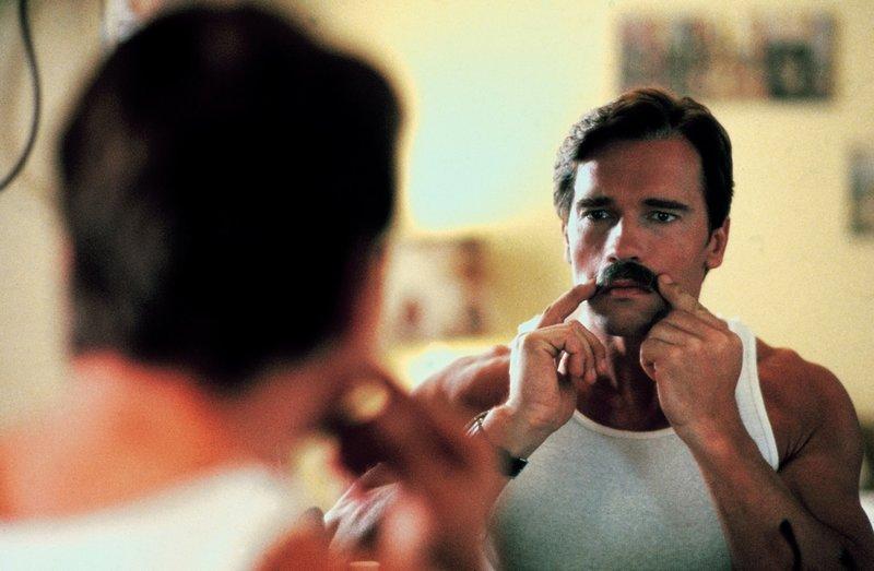 Um Zugang zu der Mafiaorganisation zu bekommen, muss Kaminsky (Arnold Schwarzenegger) unerkannt bleiben. – Bild: Studiocanal