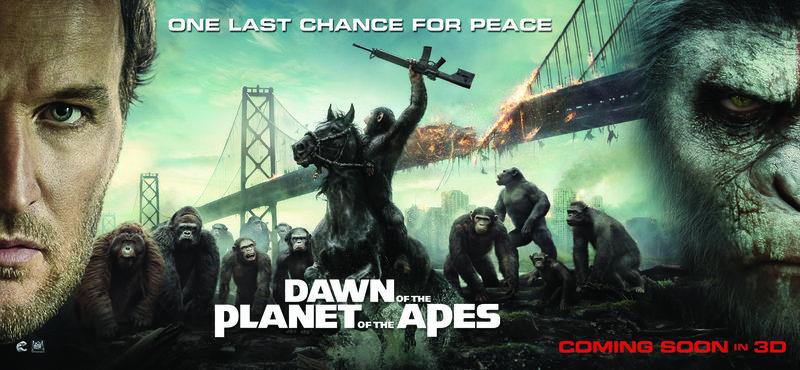 PLANET DER AFFEN: REVOLUTION - Plakat – Bild: 2014 Twentieth Century Fox Film Corporation. All rights reserved. Lizenzbild frei