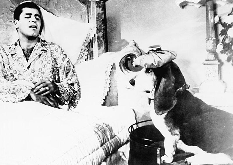 Glaubt, dass er bald sterben wird: Der einfach gestrickte Eisenbahnbeamte Homer (Jerry Lewis) aus Nevada ... – Bild: TM & Copyright © 2003 by Paramount Pictures Corporation. Lizenzbild frei