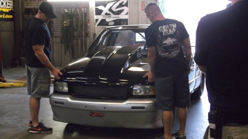 Daddy Dave gets the Sonoma on the dyno. – Bild: Discovery Channel