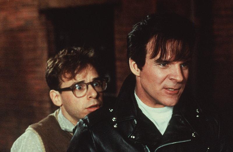 Buhlen um die Gunst von Audrey: Orin Scrivello (Steve Martin, r.) und Seymour (Rick Moranis, l.) ... – Bild: Disney Channel