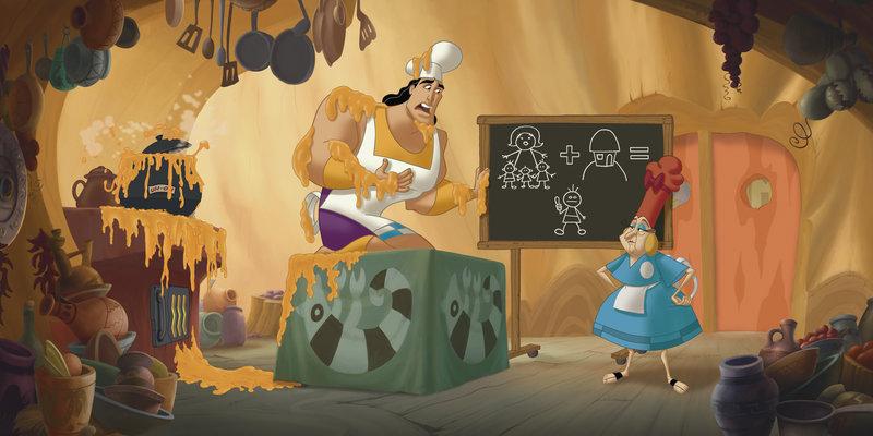 Ein Königreich für ein Lama 2 - Kronks großes Abenteuer – Bild: Disney © Disney•Pixar © & ™ Lucasfilm LTD © Marvel. Alle Rechte Vorbehalten