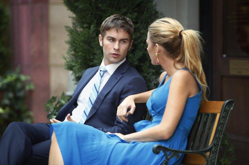 Kann Nate (Chace Crawford, l.) Serena (Blake Lively, r.) überreden, mit Blair Friedenzuschließen? – Bild: Warner Brothers Lizenzbild frei