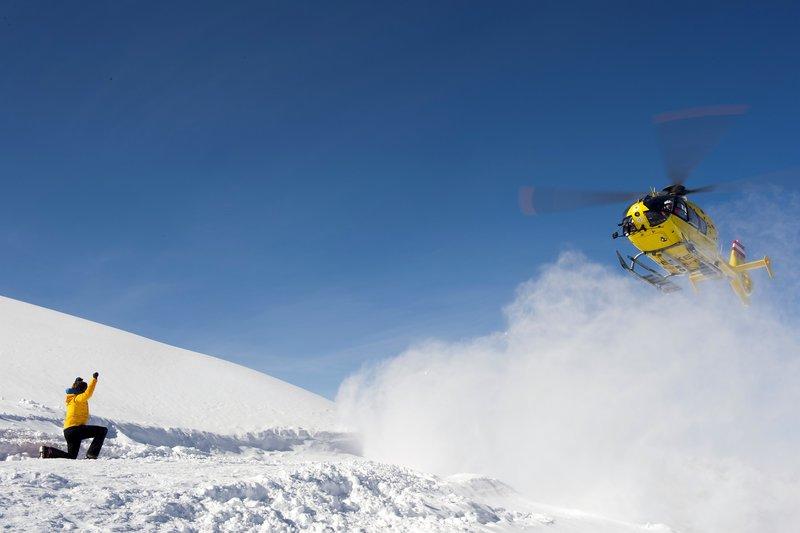 Die Bergretter Schneeblind
