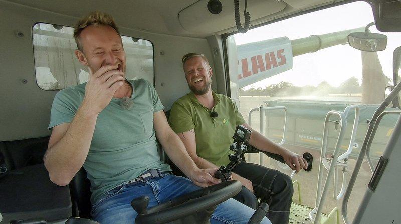 Weizenernte mit Landwirt Olli – Bild: NDR