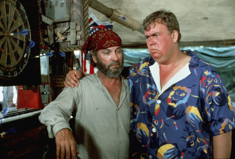 Scully (Rip Torn, l.); Jack Chester (John Candy, r.) – Bild: TM, ® & © 1985 by Paramount Pictures. All Rights Reserved. Lizenzbild frei