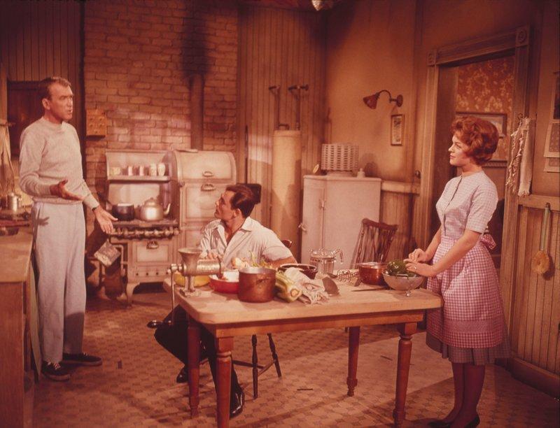 Roger Hobbs (James Stewart, links) und Peggy Hobbs (Maureen O'Hara). – Bild: BR/Twentieth Century Fox/William C. Mellor