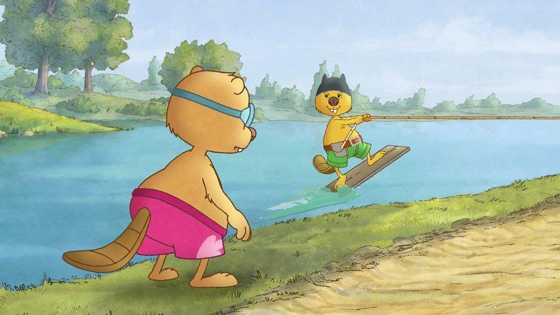 Wie gemein: Arthur lässt seinen Bruder Henry nicht mitspielen.– Bild: SWR/NDR/Akkord Film