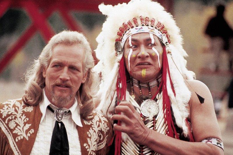 Buffalo Bill (Paul Newman, l.) – Bild: TVNOW / © 1976 STUDIOCANAL