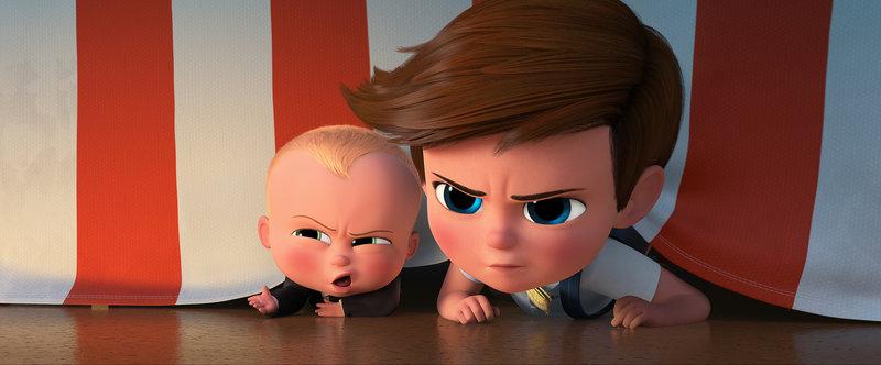 Boss Baby (l.); Tim (r.) – Bild: Puls 8