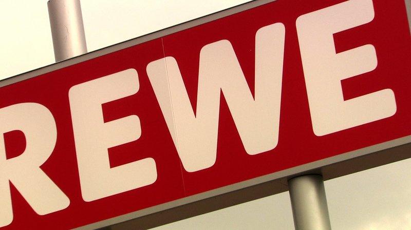 Sujet: Logo von REWE – Bild: SWR