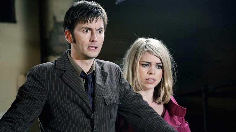 Rose (Billie Piper) und Doctor Who (David Tennant) – Bild: WDR/BBC/Adrian Rogers