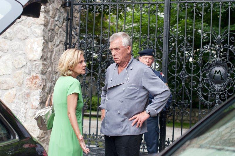 Andrea L'Arronge (Gräfin Schönberg), Heinz Marecek (Hannes Kofler). – Bild: ORF III