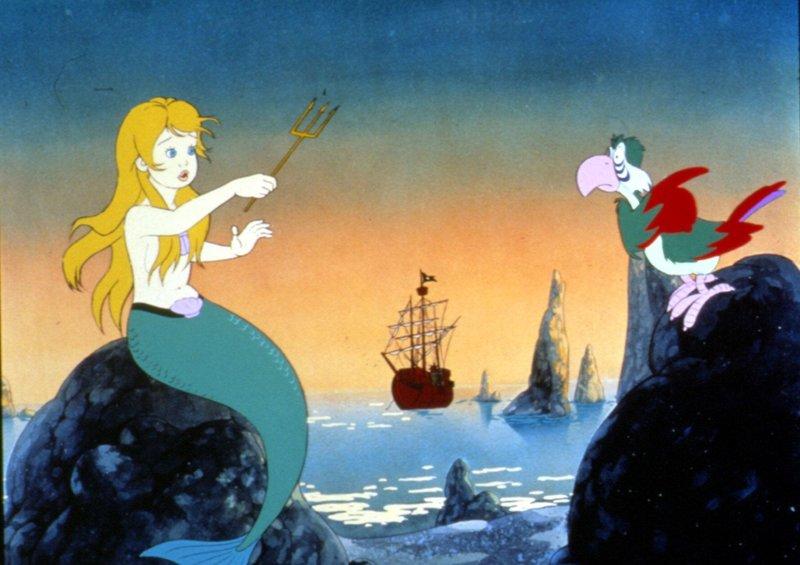 Pepolino - der kleine Seefahrer wider Willen - begegnet der Meerjungfrau Mora, seiner großen Liebe. – Bild: BR