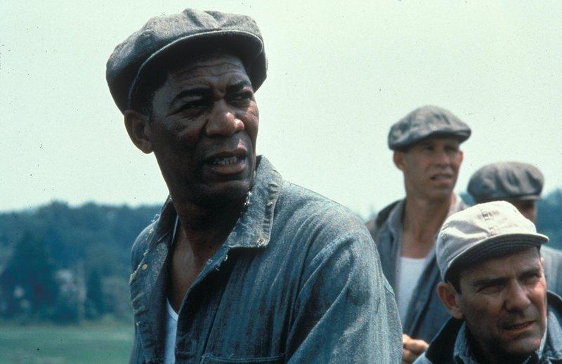 "Ellis Boyd ""Red"" Redding (Morgan Freeman, l) – Bild: VOX"