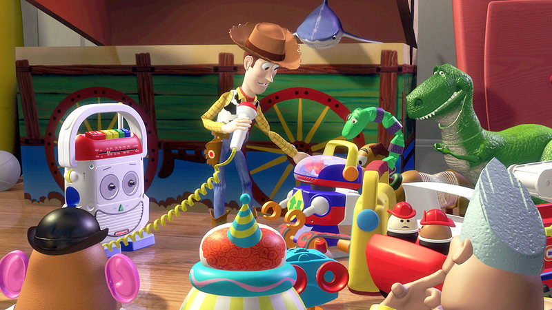 Cowboy Woody ist Andys Lieblingsspielzeug und damit auch Chef im Kinderzimmer – Bild: RTL II