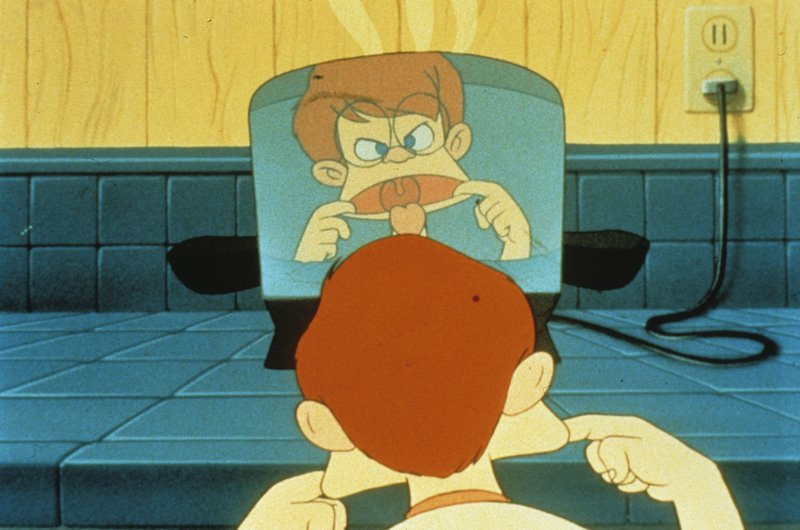 Der kleine Rob liebt Marmeladen-Toast und Grimassen schneiden. . Der tapfere kleine Toaster – Bild: ATV2