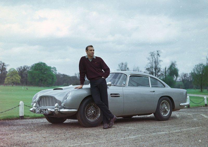 James Bond 007 - Goldfinger Sean Connery – Bild: ATV