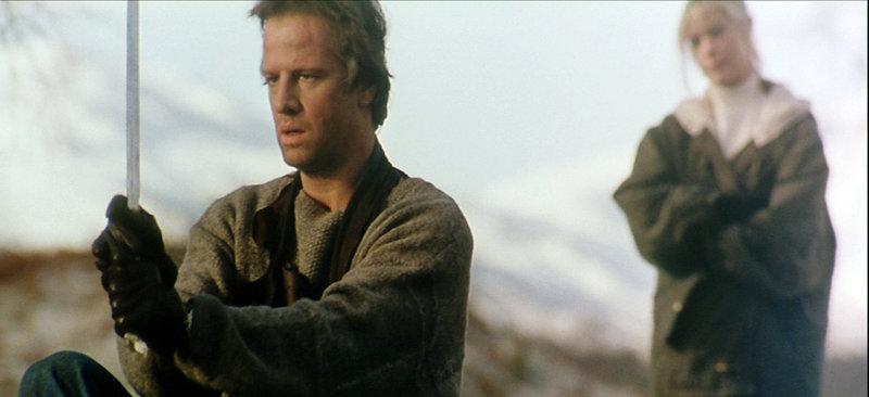 MacLeod (Christopher Lambert) bereitet sich auf den ultimativen Kampf vor.. – Bild: RTL Zwei