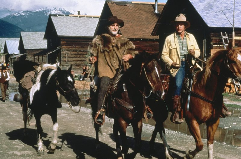 Bagshaw (Jeff Corey, l.); Jacob Taylor (Morgan Stevens, r.) – Bild: Beta Film Lizenzbild frei