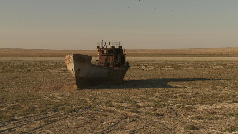 Aral See, Kasachstan. – Bild: ORF