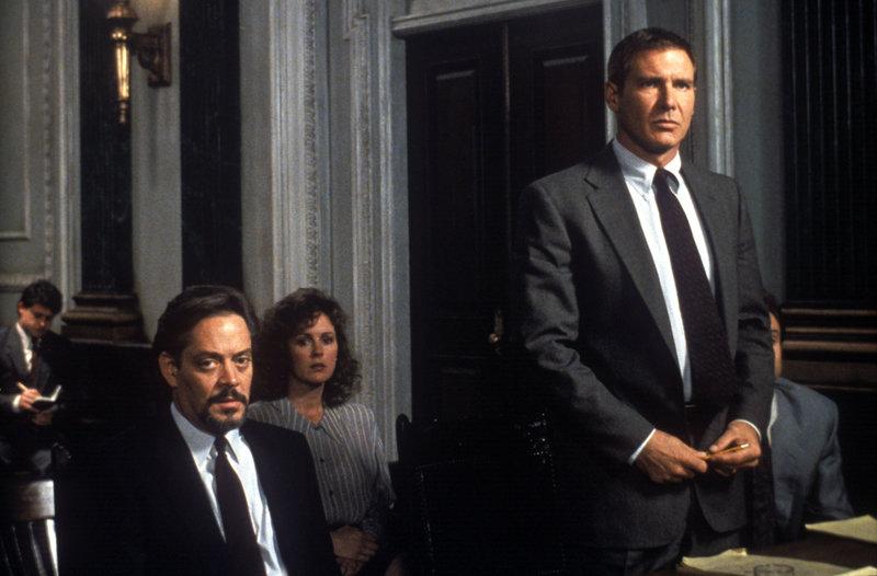 Uznany za niewinnego (Presumed Innocent) film sensacyjny, USA 1990 fot. TVN / Warner Bros Harrison Ford, Raul Julia – Bild: fot. TVN / Warner Bros