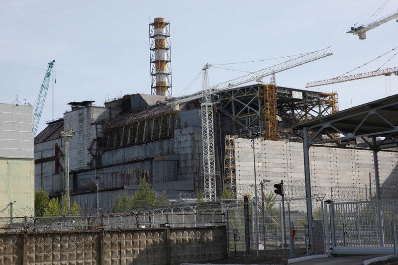Ein Reaktor des stillgelegten Kernkraftwerks Tschernobyl im Norden der Ukraine – Bild: arte