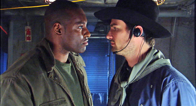 Im Bild: Dixon (Colin Lawrence), Cassidy (Warren Christie). – Bild: Tele 5