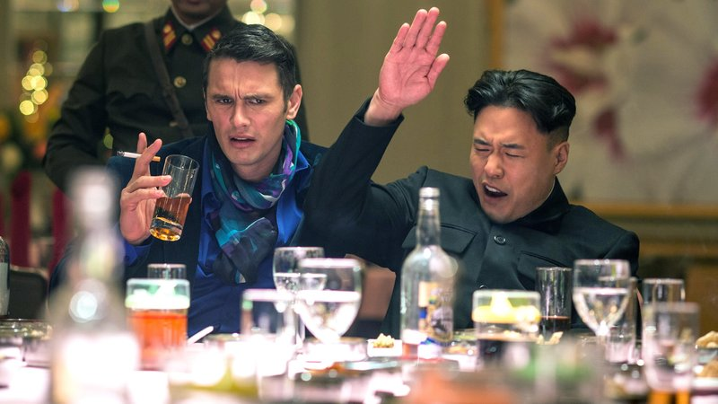 Dave Skylark (James Franco) und Kim Jong-un (Randall Park)Dave Skylark (James Franco) und Kim Jong-un (Randall Park) – Bild: RTL II