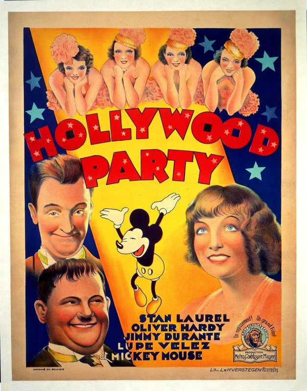 Hollywood Party – Bild: 1934 Turner Entertainment Co. All rights reserved. Lizenzbild frei