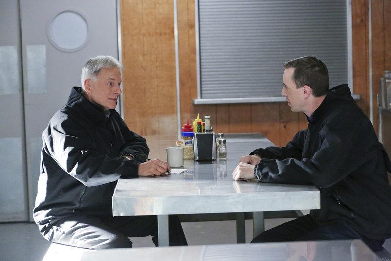 Noch tappen Gibbs (Mark Harmon, l.) und McGee (Sean Murray, r.) im Dunkeln. Doch werden sie den Mörder des aktuellen Falles finden? – Bild: Sat.1