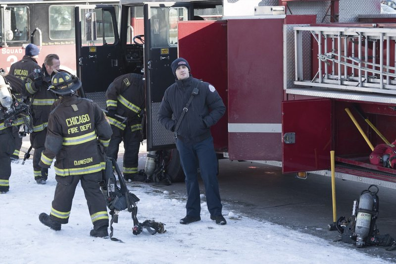 "CHICAGO FIRE -- ""What Happened to Courtney"" Episode 417 -- Pictured: Steven R. McQueen as Jimmy Borelli -- (Photo by: Elizabeth Morris/NBC) – Bild: Universal TV"