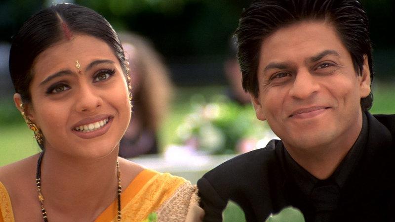 Anjali (Kajol, li), Rahul (Shah Rukh Khan, re) – Bild: Zee.One