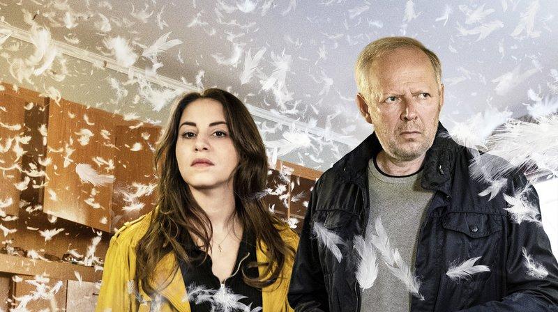 Mila Sahin (Almila Bagriacik) und Klaus Borowski (Axel Milberg). – Bild: NDR/Christine Schroeder