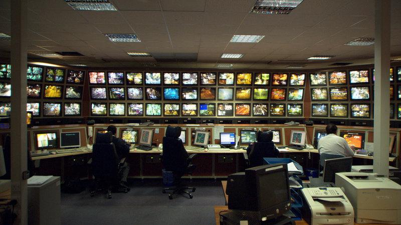 Überwachen und Strafen: Sicherheit ist in Europa zu einer Frage der Kameraaugen geworden. – Bild: ZDF und Nikolaus Geyrhalter