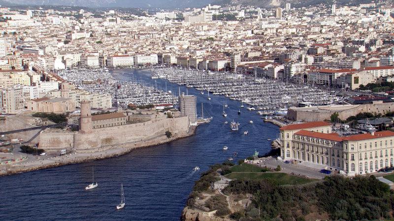 Der Hafen von Marseille – Bild: ARTE / © Gedeon Programmes
