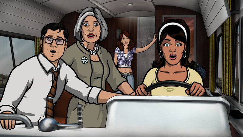 Archer Vice: Southbound and Down (Staffel 5, Folge 5) – Bild: 2014 FX Networks, LLC All rights reserved. Lizenzbild frei