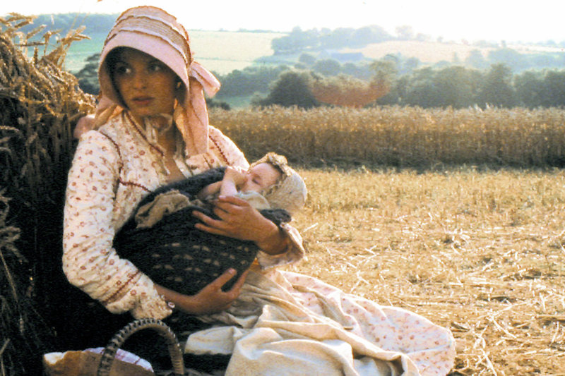 Tess (Nastassja Kinski) mit ihrem Kind – Bild: ARTE F / © ARD/Degeto