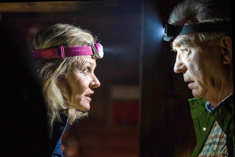 Andrea L'Arronge (Gräfin Schönberg), Heinz Marecek (Hannes Kofler). – Bild: ORF 1