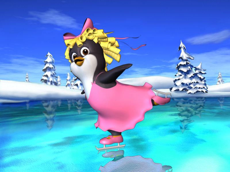 Prinzessin Crystal (Bild) macht sich zusammen mit ihrer Schwester Lucinda auf den Weg zum Nordpol, um den Weihnachtsmann zu finden. – Bild: KiKA/Colorland Animation Prod.