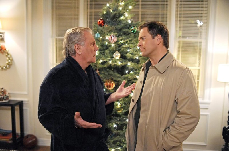 Robert Wagner, Michael Weatherly – Bild: CBS Broadcasting Inc. / Richard Foreman