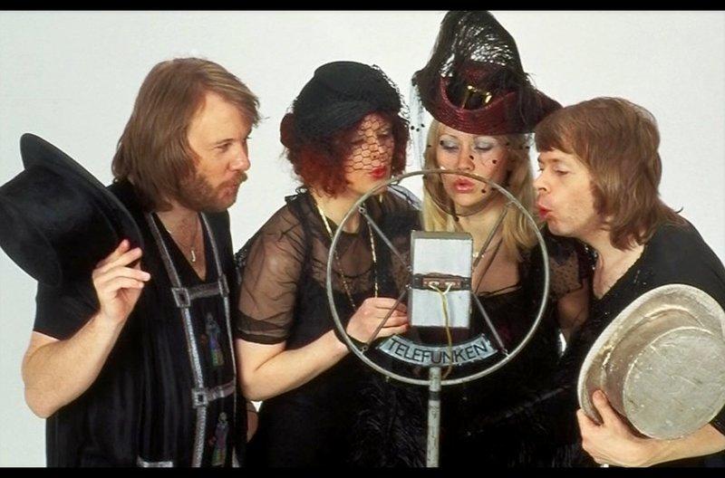 Obwohl seit langem getrennt, hat der Erfolg der Band ABBA nicht nachgelassen. – Bild: arte
