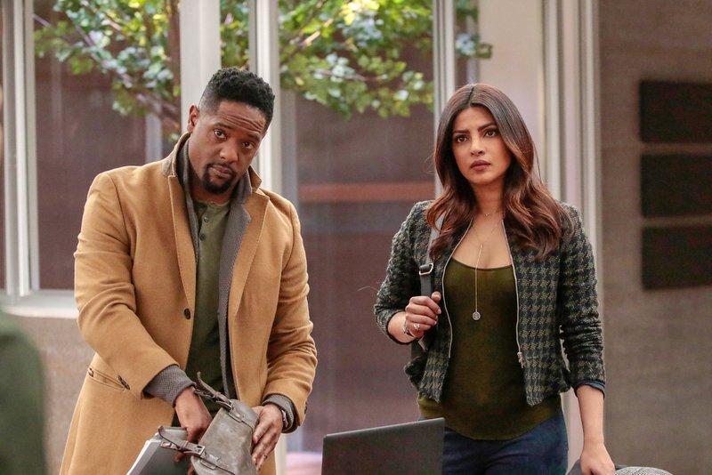 Blair Underwood (Owen Hall), Priyanka Chopra (Alex Parrish). – Bild: ORF 1