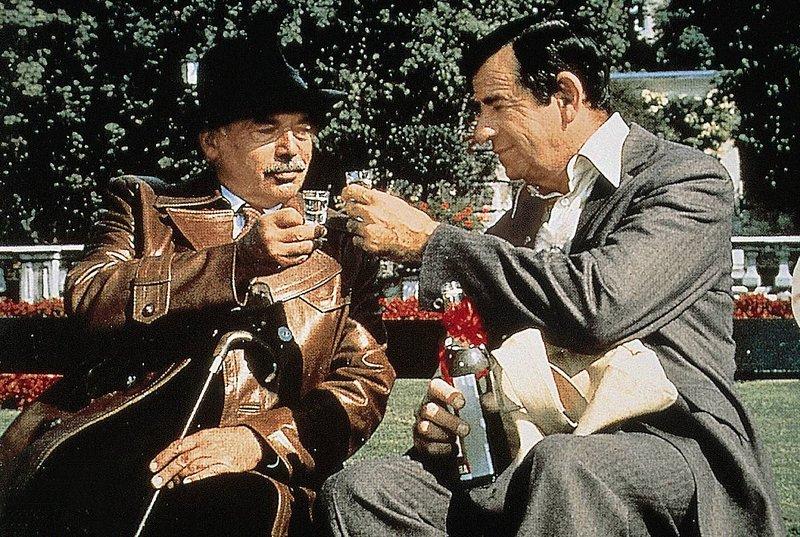Miles Kendig (Walter Matthau) und Mikhail Yaskov (Herbert Lom)... – Bild: SF DRS