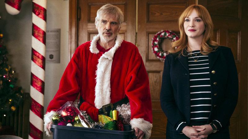 Für Komplikationen sorgt die Tatsache, dass sich Willie (Billy Bob Thornton) ausgerechnet in die attraktive Wohltätigkeitsdirektorin Diane (Christina Hendricks) verliebt.. – Bild: RTL II