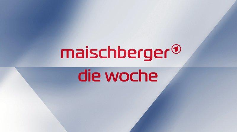"""WESTDEUTSCHER RUNDFUNK KÖLN maischberger.die woche - Logo Talkshow mit Sandra Maischberger Mittwochs im Ersten. © WDR, honorarfrei - Verwendung gemäß der AGB im engen inhaltlichen, redaktionellen Zusammenhang mit genannter WDR-Sendung und bei Nennung """"Bild: WDR"""" (S2). WDR Kommunikation/Redaktion Bild, Köln, Tel: 0221/220 -7132 oder -7133, Fax: -777132, bildredaktion@wdr.de – Bild: WDR / WDR Kommunikation/Redaktion Bild"""