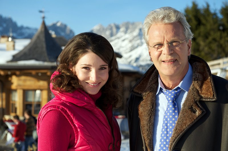 Sophie Wepper (Elke Zeilinger), Peter Sattmann (Arnulf Christensen). – Bild: ORF III