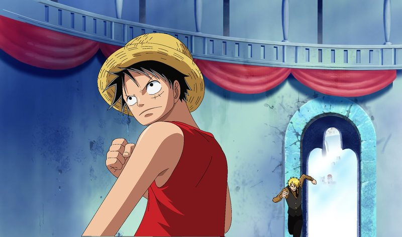 Ruffy (l.) – Bild: Film © 1999 Toei Animation Co., Ltd. Lizenzbild frei