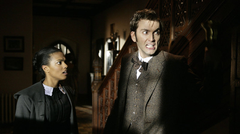 Doctor Who (David Tennant) mit Martha (Freema Agyeman) – Bild: WDR/BBC Wales